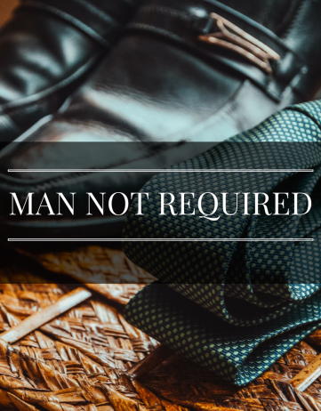Man Not Required